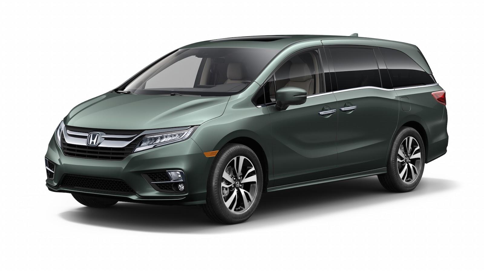 Honda Odyssey 2018 thêm tính năng dành riêng cho gia đình - ảnh 1