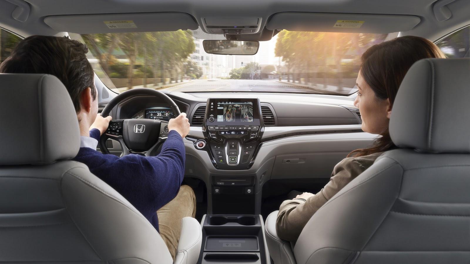 Honda Odyssey 2018 thêm tính năng dành riêng cho gia đình - ảnh 4
