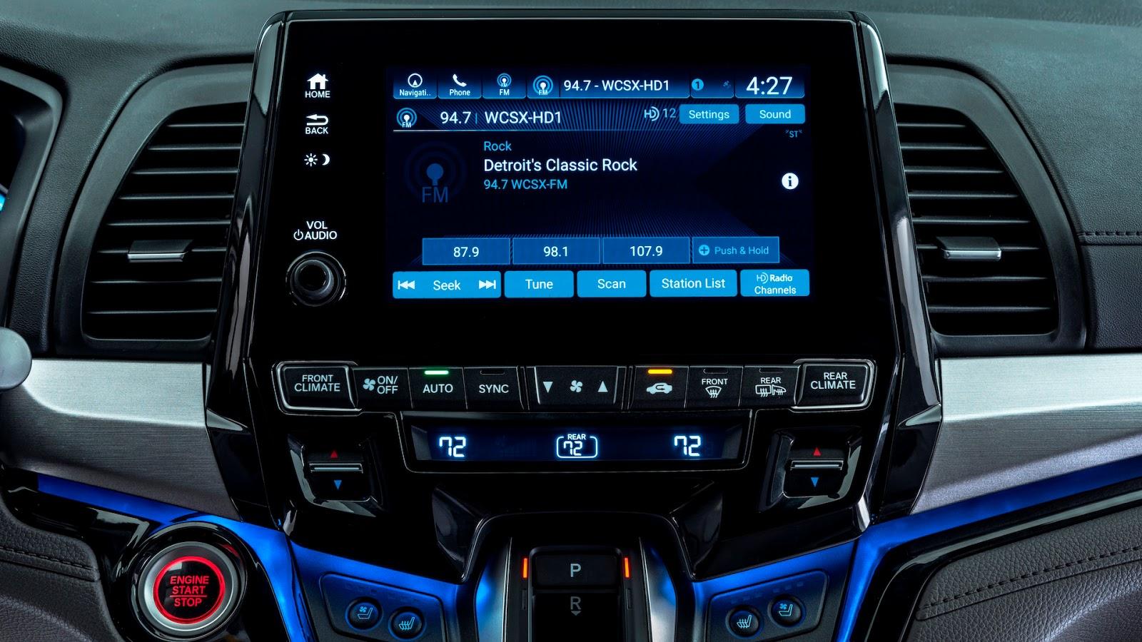Honda Odyssey 2018 thêm tính năng dành riêng cho gia đình - ảnh 8