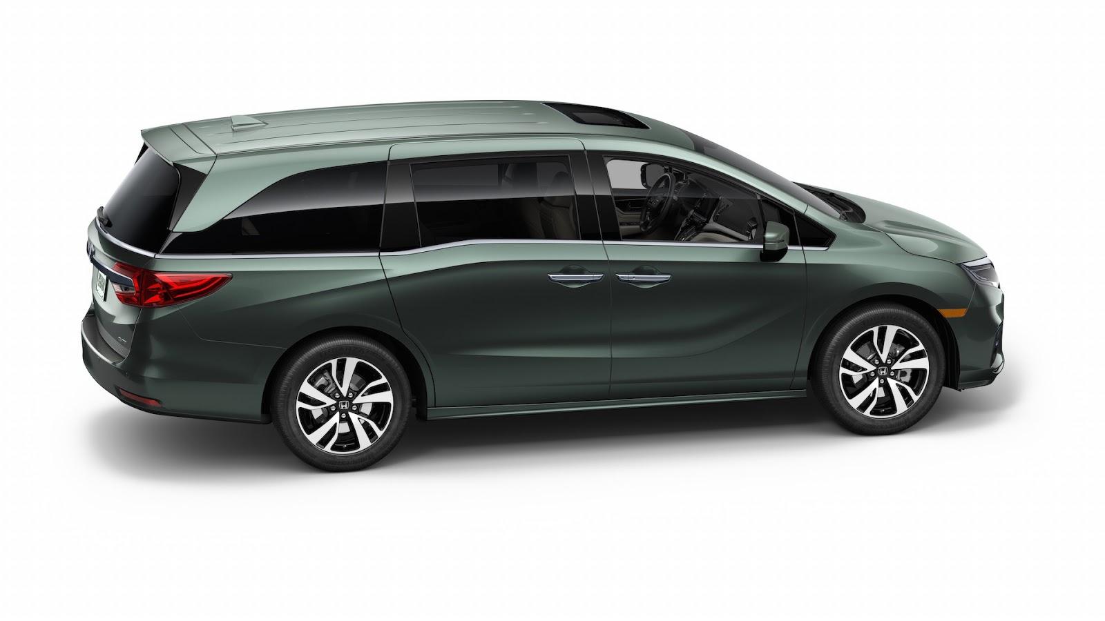 Honda Odyssey 2018 thêm tính năng dành riêng cho gia đình - ảnh 2