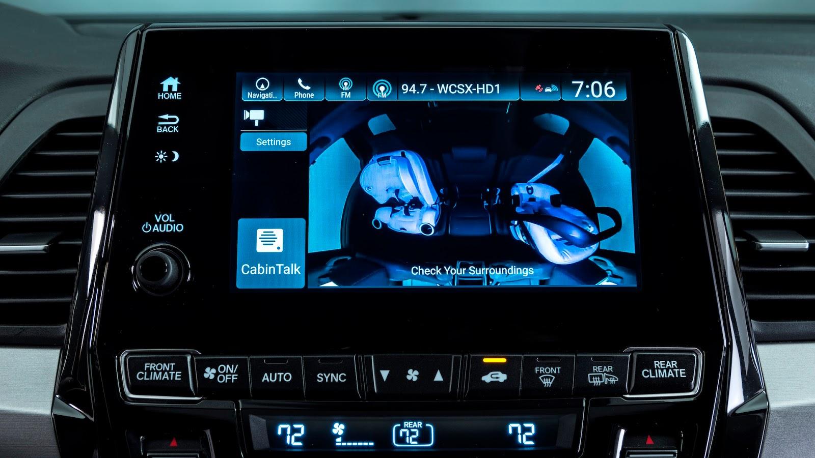 Honda Odyssey 2018 thêm tính năng dành riêng cho gia đình - ảnh 7