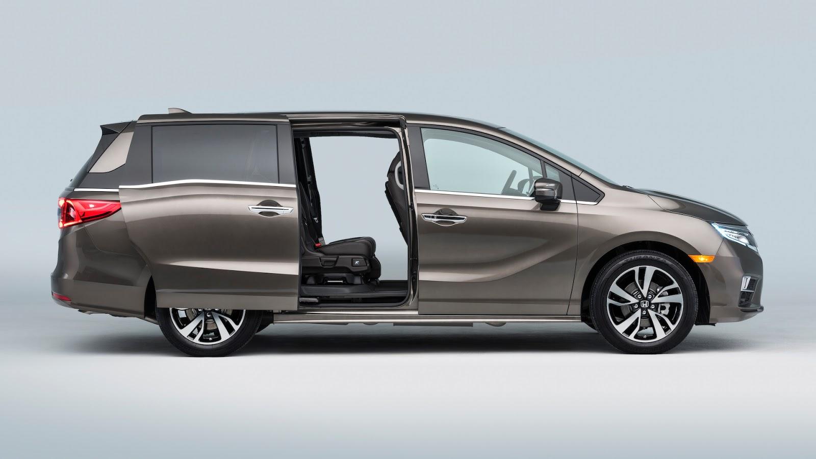 Honda Odyssey 2018 thêm tính năng dành riêng cho gia đình - ảnh 6