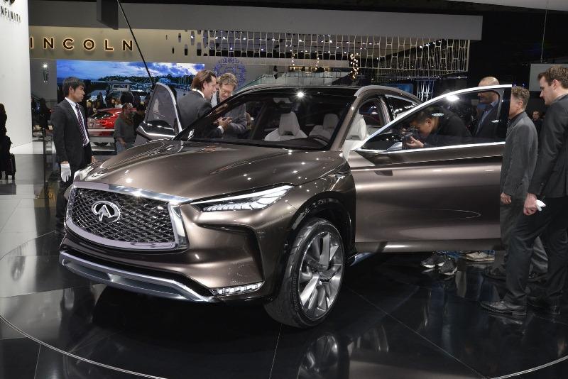 QX50 Concept – SUV hạng sang cỡ trung mới của Infiniti - ảnh 1