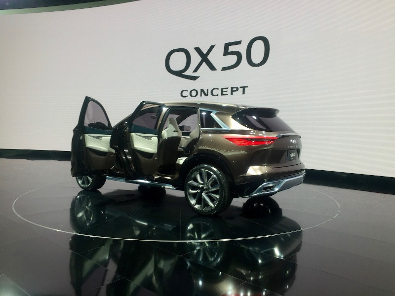 QX50 Concept – SUV hạng sang cỡ trung mới của Infiniti - ảnh 2
