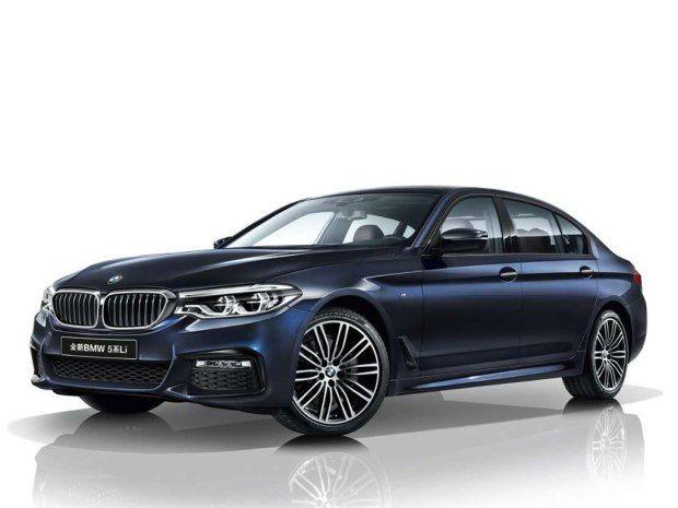 BMW 5-Series Li 2018 trình làng tại Thượng Hải Auto Show - ảnh 1
