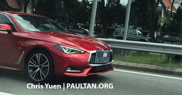 Infiniti Q60 có thể sớm ra mắt tại Malaysia - ảnh 1