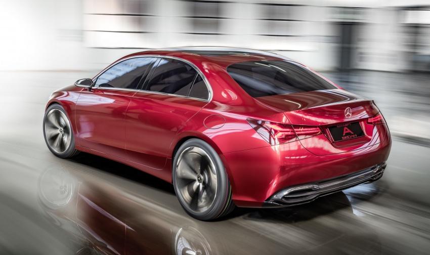 Cận cảnh Mercedes-Benz Concept A sedan - ảnh 7