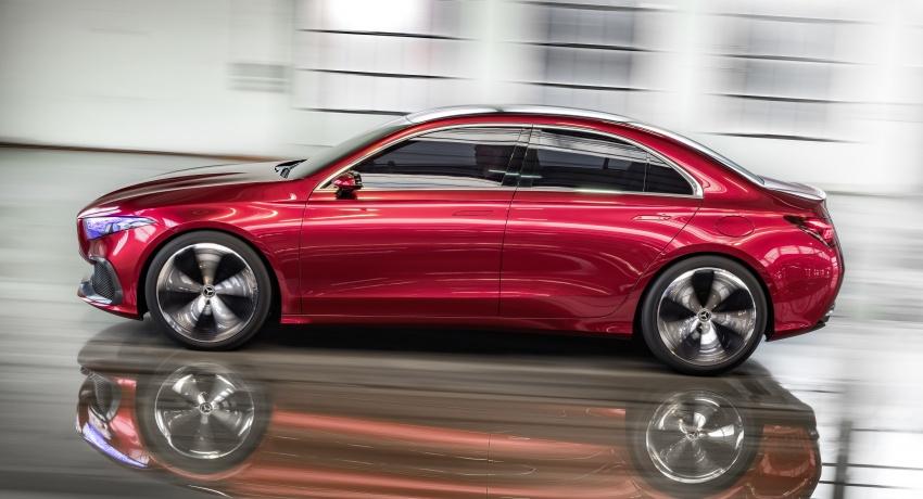 Cận cảnh Mercedes-Benz Concept A sedan - ảnh 6