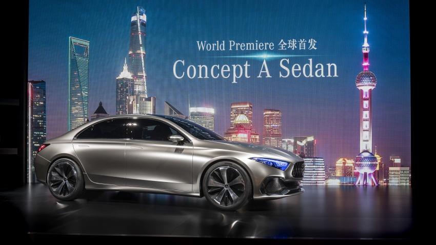 Cận cảnh Mercedes-Benz Concept A sedan - ảnh 1