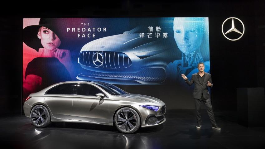 Cận cảnh Mercedes-Benz Concept A sedan - ảnh 2