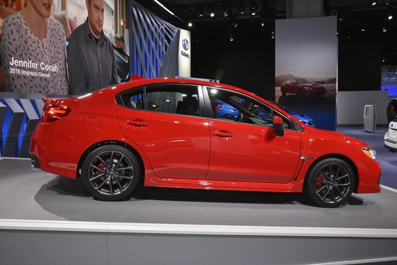 Subaru công bố giá bán WRX và WRX STI 2018 - ảnh 5
