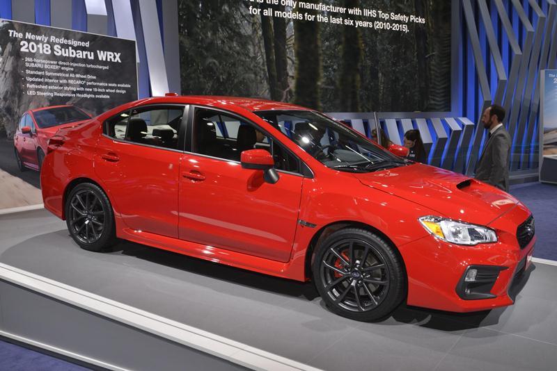 Subaru công bố giá bán WRX và WRX STI 2018 - ảnh 6
