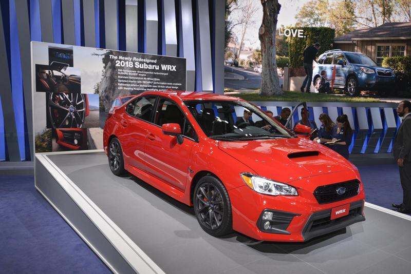 Subaru công bố giá bán WRX và WRX STI 2018 - ảnh 4