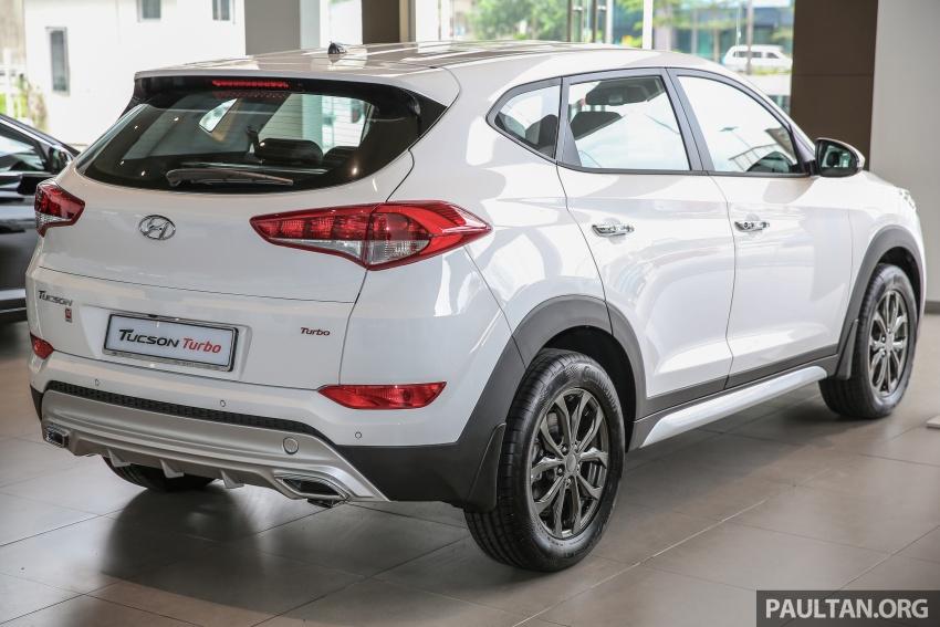 Hyundai Tucson động cơ tăng áp chốt giá từ 773 triệu đồng