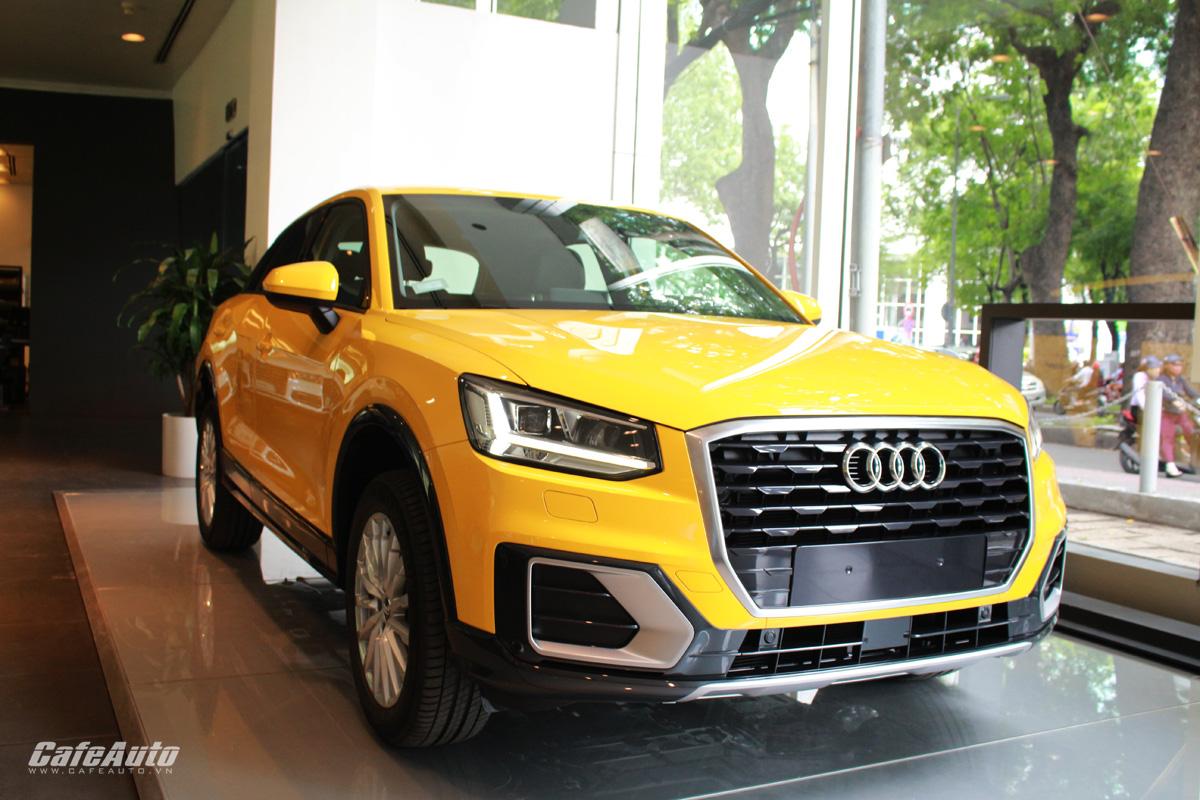 Audi Q2 2017 ra mắt chốt giá bán tại Việt Nam có gì?