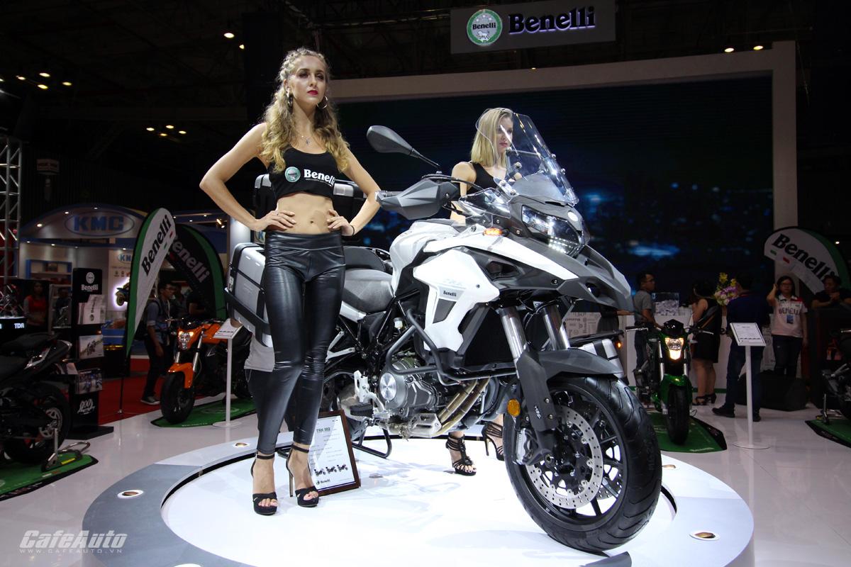Benelli TRK 502 chính thức phân phối tại Thái Lan - ảnh 3
