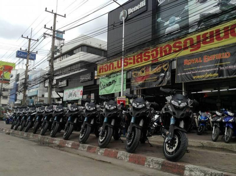 Benelli TRK 502 chính thức phân phối tại Thái Lan - ảnh 2