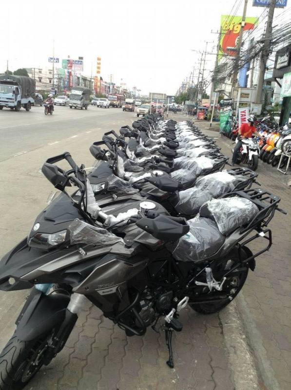 Benelli TRK 502 chính thức phân phối tại Thái Lan - ảnh 1