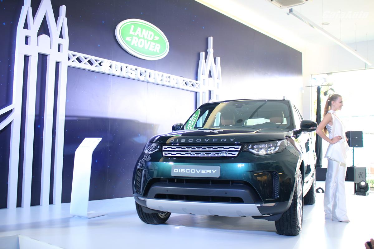 Land Rover Discovery 2017 ra mắt tại Việt Nam, giá từ 3,99 tỷ đồng