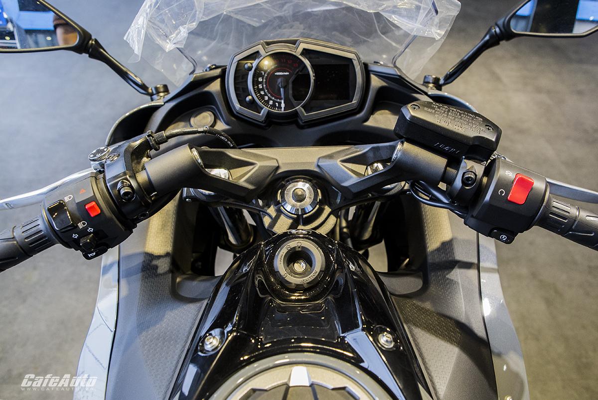 """Kawasaki """"xuất binh"""" Ninja 650 ABS 2018 hoàn toàn mới, giá 228 triệu đồng - ảnh 5"""