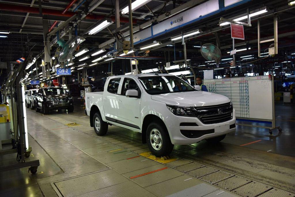 Tìm hiểu quy trình sản xuất Chevrolet Colorado Centennial 2018