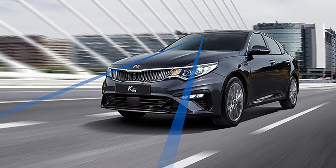 Kia Optima 2019 (Kia K5) lại lộ hình ảnh ngoại thất