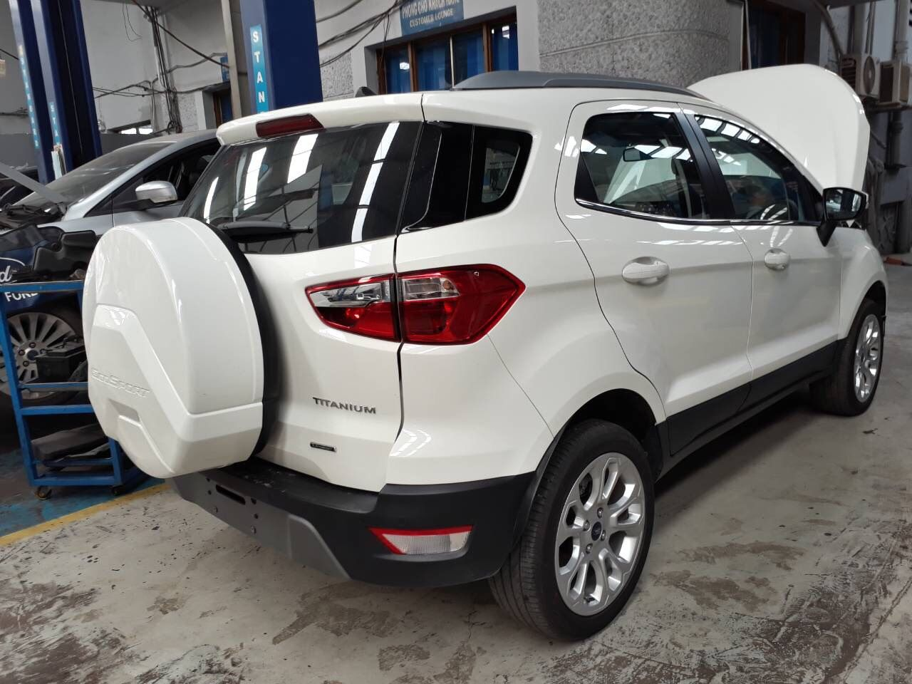 Những hình ảnh đầu tiên của Ford Ecosport 2018 tại Việt Nam