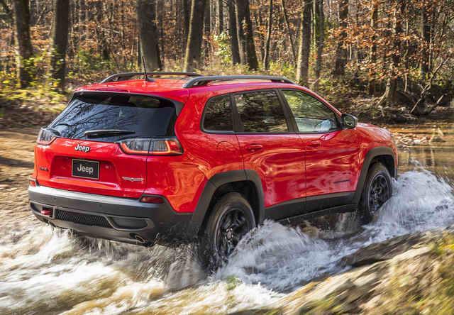 Ngắm mẫu SUV Jeep Cherokee 2019 có giá 572 triệu đồng