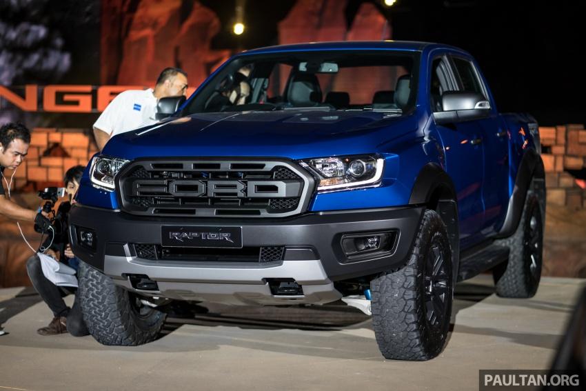 Chi tiết mẫu Ford Ranger Raptor vừa ra mắt tại Thái Lan