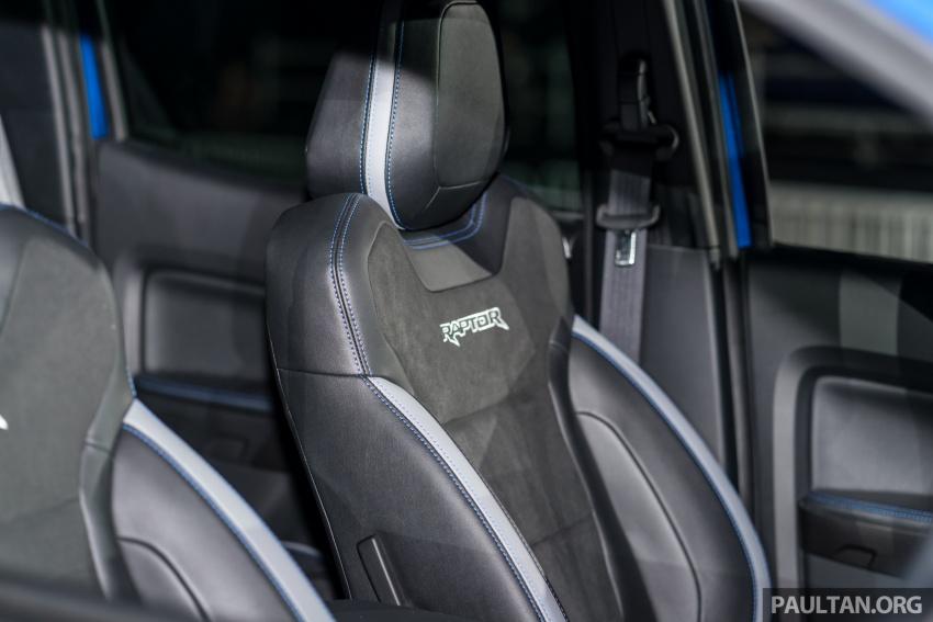 Soi chi tiết mẫu Ford Ranger Raptor vừa ra mắt
