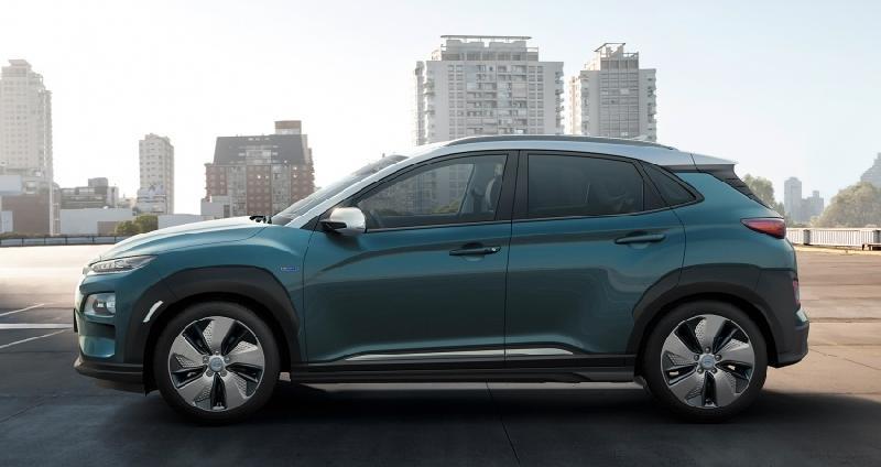 Xe điện Hyundai KONA với khả năng di chuyển 470km/1 lần sạc