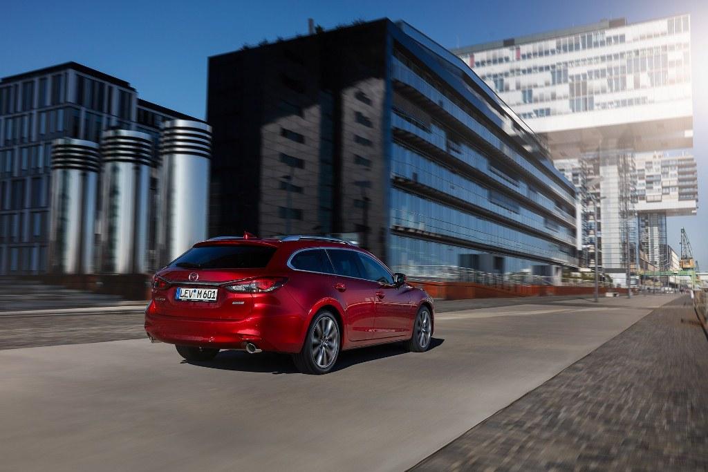 Mazda 6 Wagon 2018 trình làng với nâng cấp vượt trội
