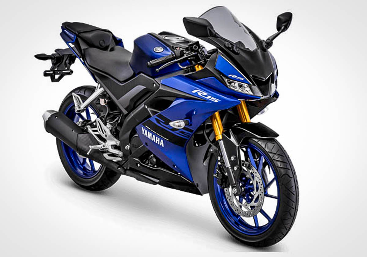 Yamaha R15 2018 trang bị phuộc mới, thêm màu sắc