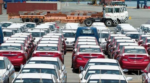 Ô tô nhập khẩu trong tuần giảm mạnh