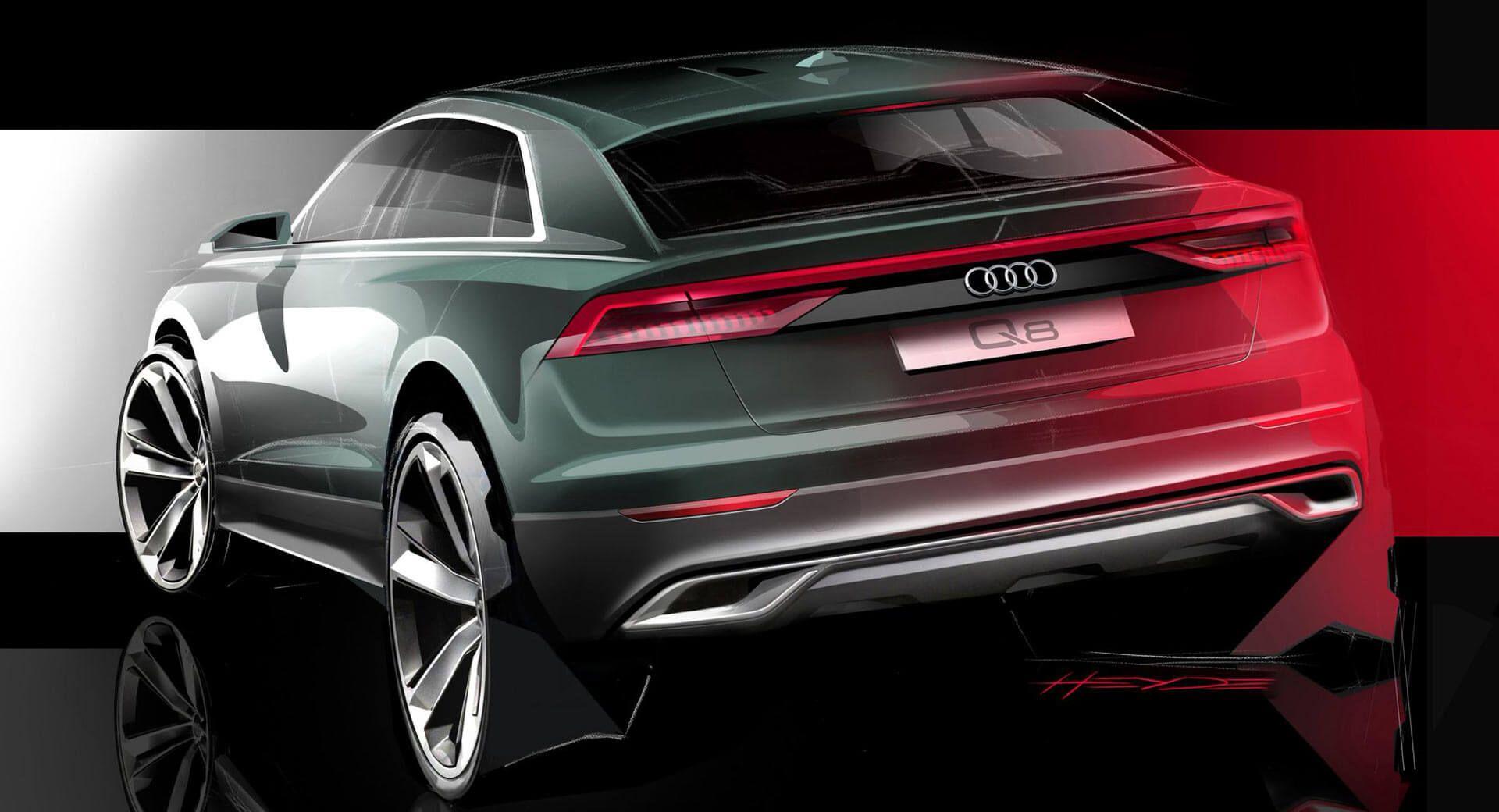 Đức: Audi Q8 2019 sẽ được giới thiệu như một bộ phim nhiều tập