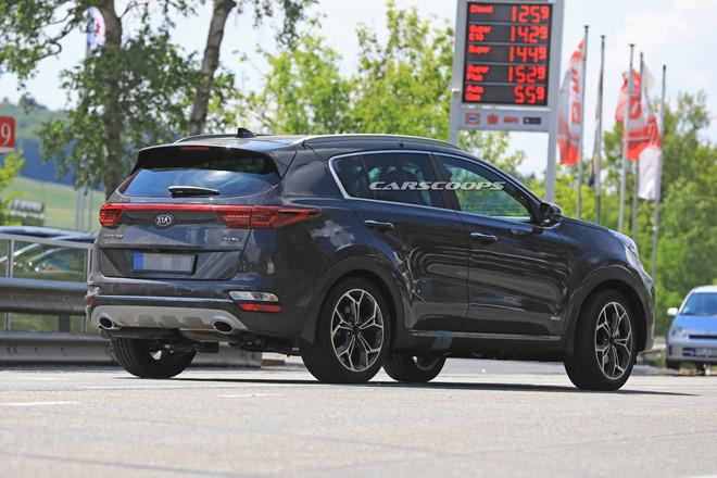 Kia Sportage 2019 lộ diện trên đường chạy thử nghiệm với nhiều thay đổi