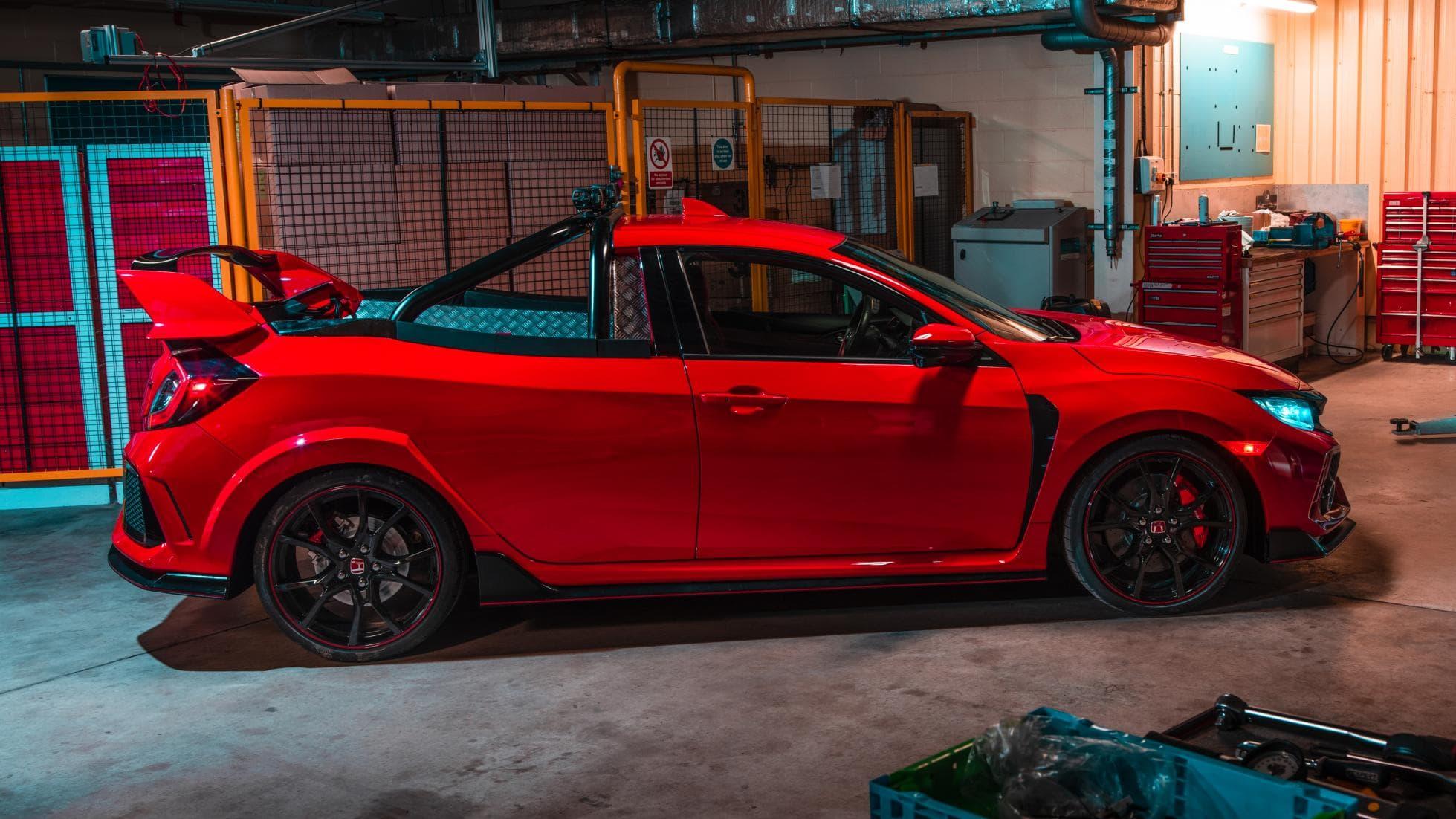 Độ Honda Civic Type R thành mẫu xe bán tải độc đáo tại Anh