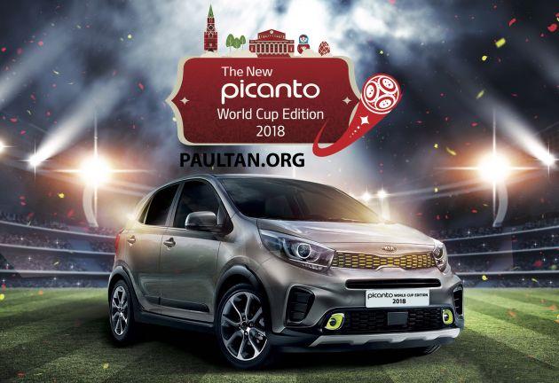 Kia Morning ra mắt phiên bản đặc biệt dành riêng mùa World Cup 2018