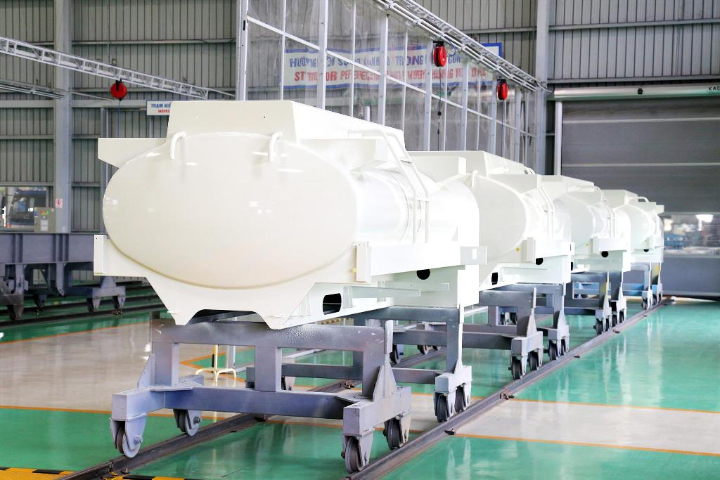 Thaco xuất khẩu bồn nhiêu liệu 3.000 lít sang Hàn Quốc