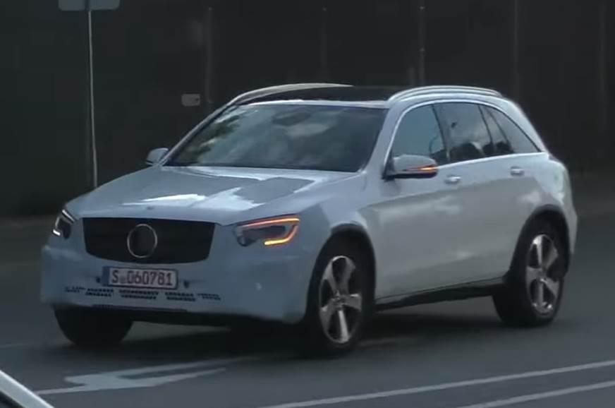 Mercedes-Benz GLC 2019 lộ diện với thiết kế hoàn toàn mới