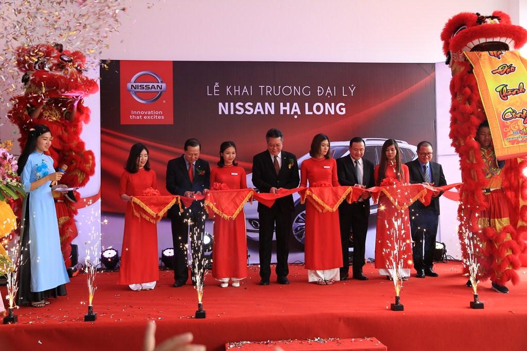 Chính thức khai trương Đại lý 3S Nissan Hạ Long