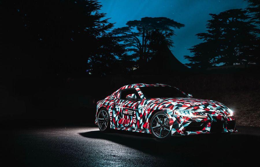 Xe thể thao Toyota Supra tiếp tục được nhá hàng, ra mắt giữa năm 2019