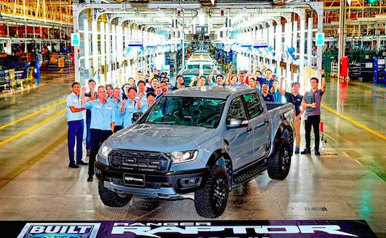 Ford Ranger Raptor dự tính về Việt Nam cuối năm