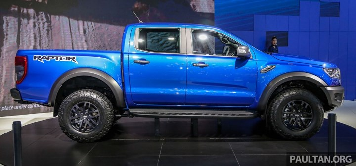 Ford Ranger Raptor 2019 lắp ráp tại Thái Lan, dự kiến về Việt Nam cuối năm nay