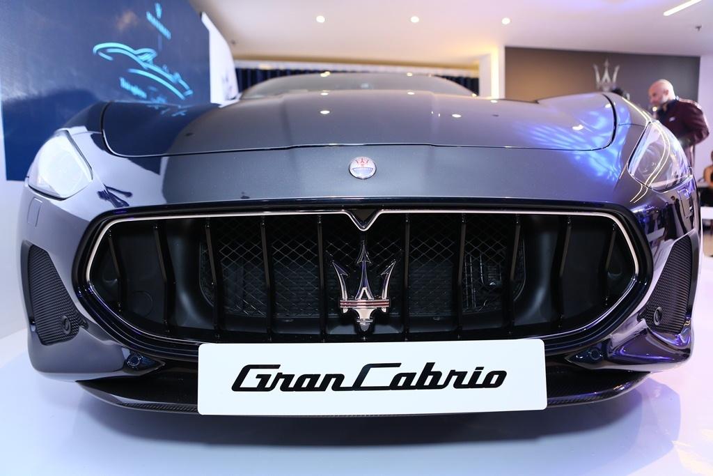 Maserati GranCabrio Sport ra mắt kín, hướng tới khách hàng chọn lọc