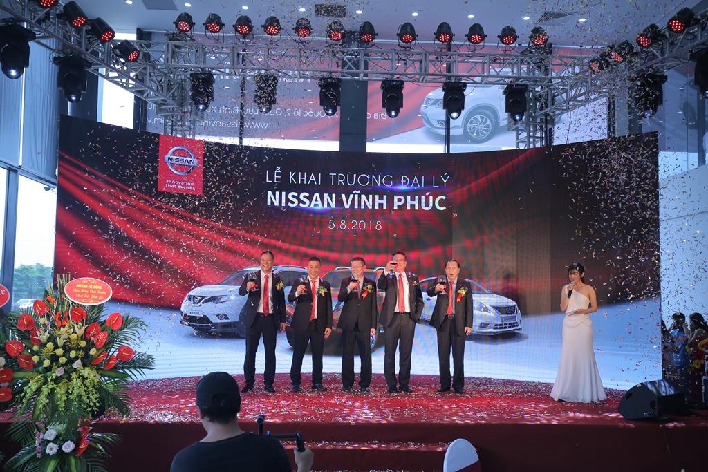 Nissan khai trương đại lý thứ 22 trên toàn quốc - Đại lý Nissan Vĩnh Phúc