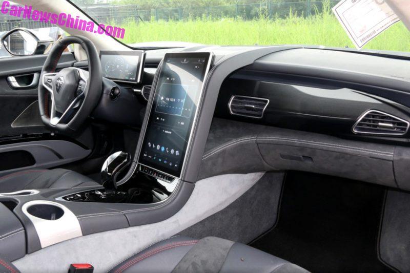 Siêu xe điện Qiantu K50 ''của'' Trung Quốc mạnh gần 500 mã lực