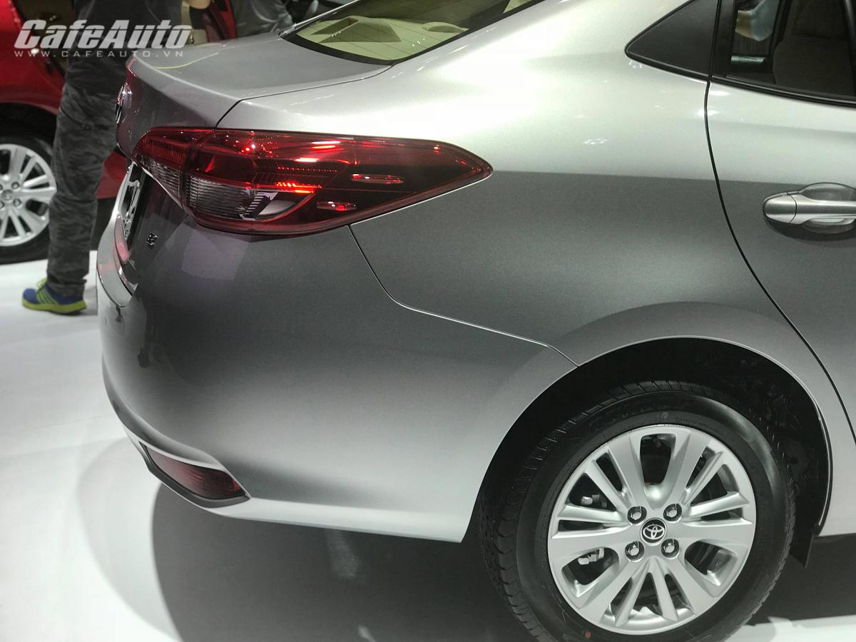 """""""Át chủ bài"""" Toyota Vios 2018 thế hệ mới chính thức ra mắt, giá từ 531 triệu đồng"""