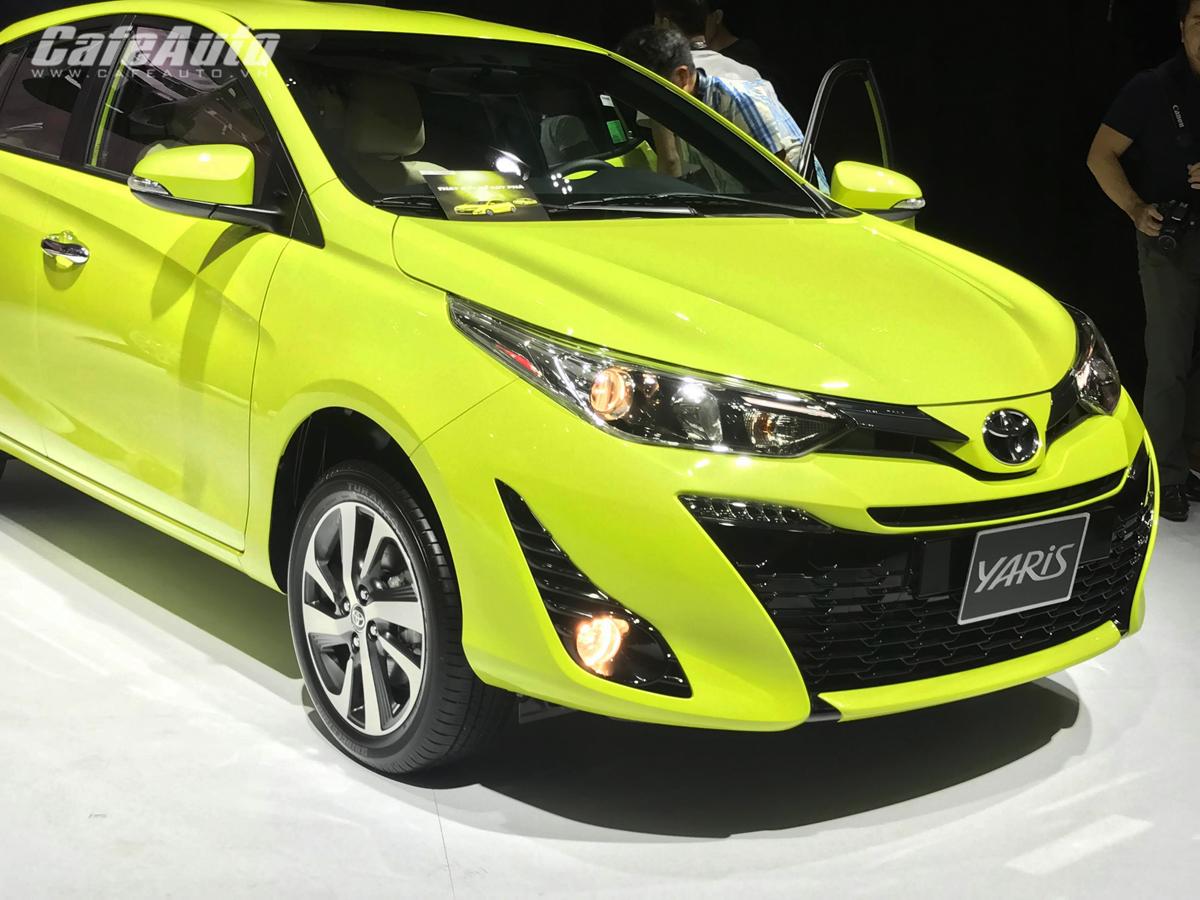 Toyota Yaris 2018 trình làng, giá bán từ 650 triệu đồng
