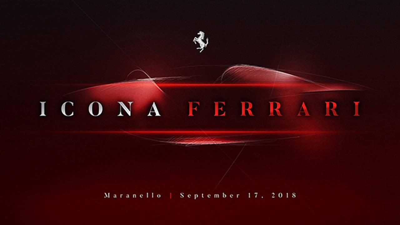 Siêu xe Ferrari Teaser nhá hàng trên trang web chính thức của hãng